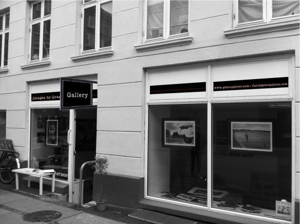 JG Gallery - Facadeskilt
